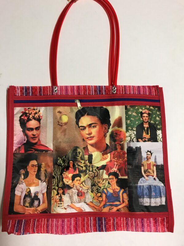 RFC28 MESH MERCADO FRIDA BAG