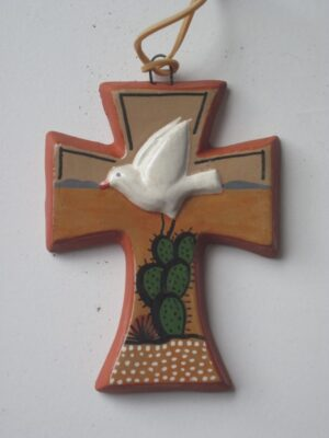 AGJ04 CROSS WITH DOVE SMALL (Medium)