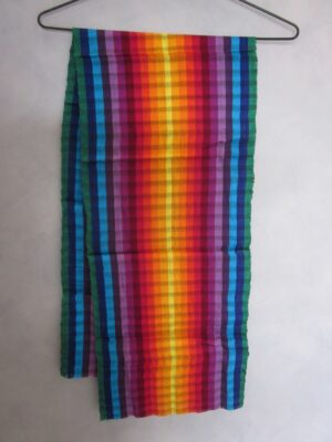 QAX28 SCARF RAINBOW (Medium)