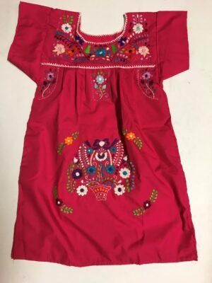 SRQ03 PINK SIZE 4 GIRLS DRESS