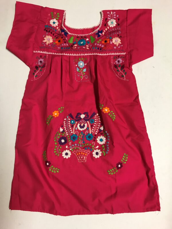 SRQ03 PINK SIZE 4 GIRLS DRESS